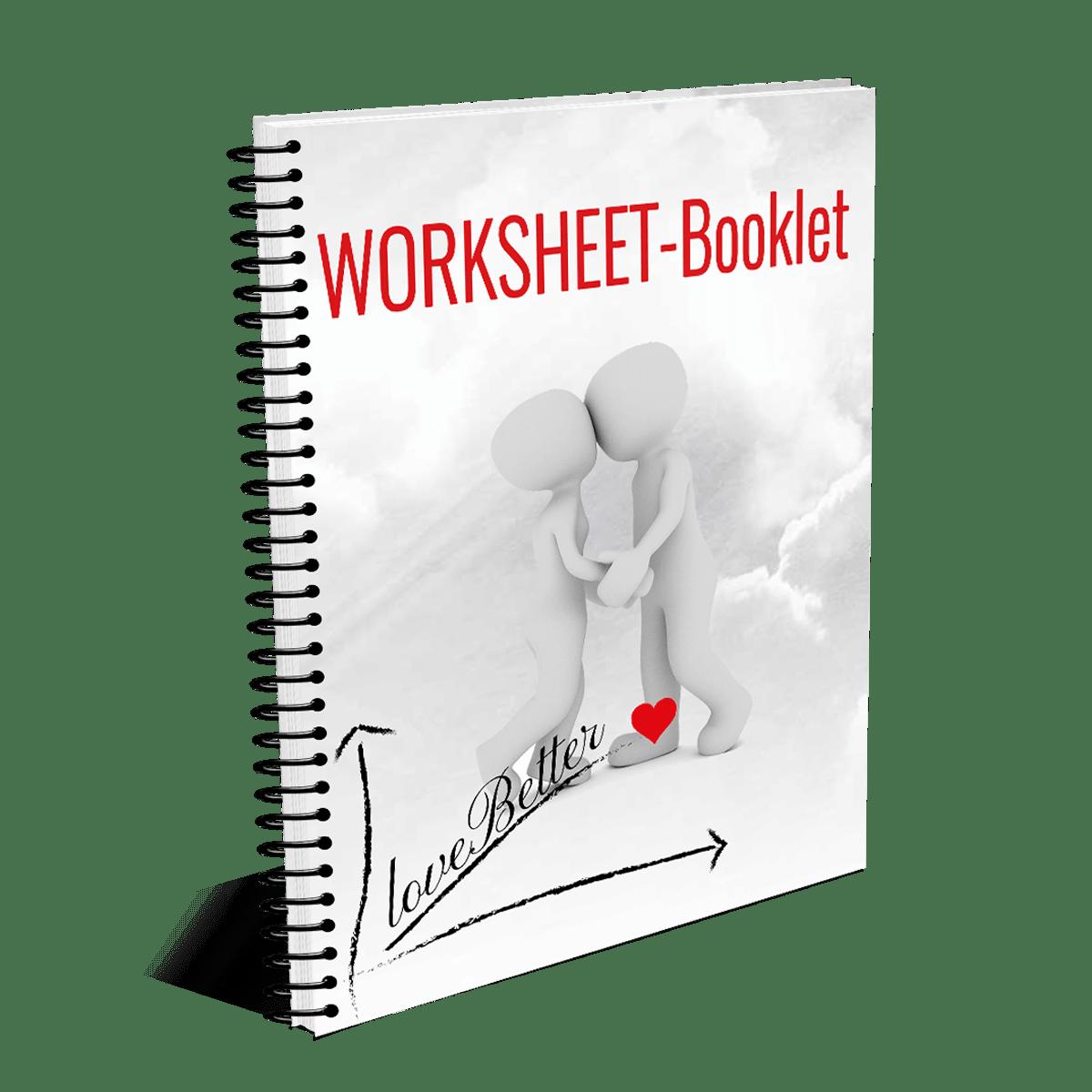 Der besondere Liebhaber WORKSHEET-Booklet