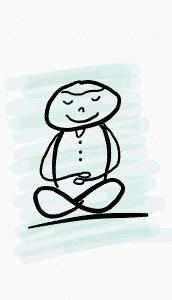 Länger durchhalten durch Meditation