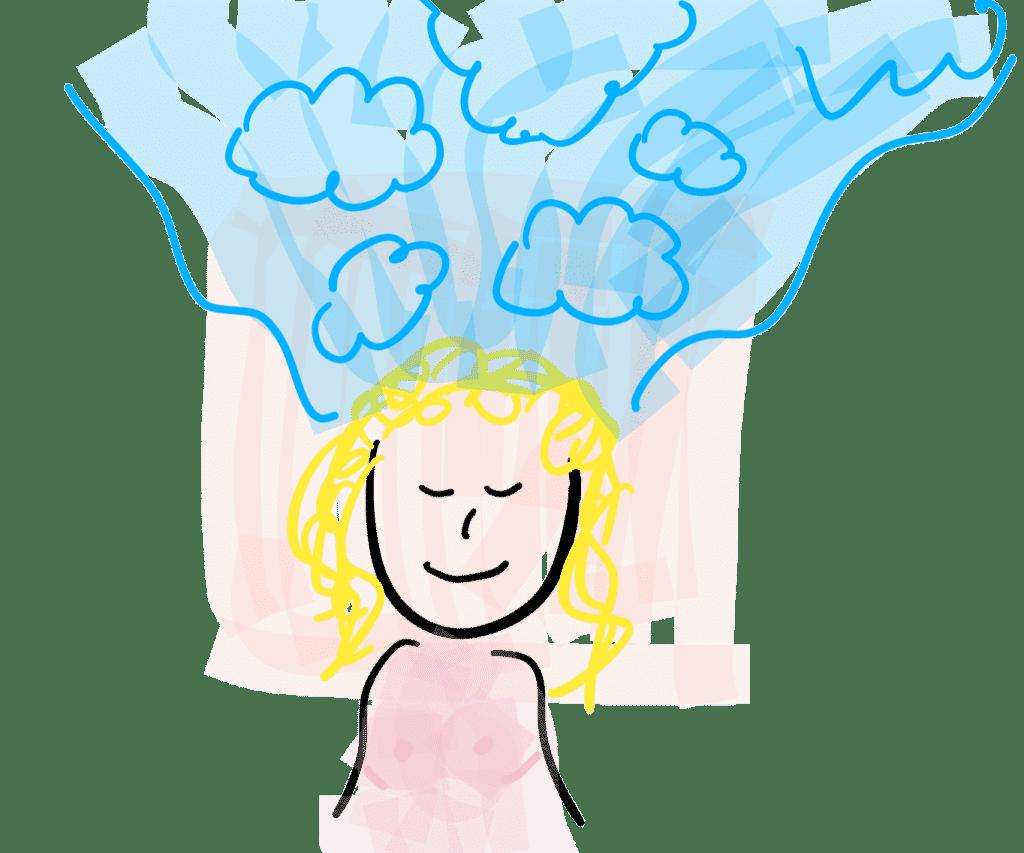 Frau verwöhnen - Gedankenlosigkeit