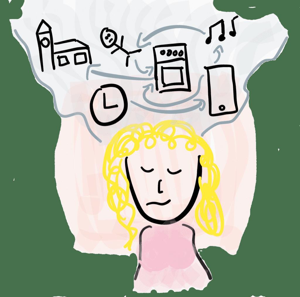 Gedanken beim Frauen befriedigen