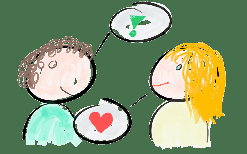 Kommunikation bei vorzeitigem Samenerguss